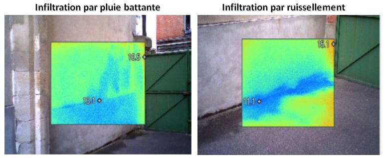 Thermographie et infiltrations